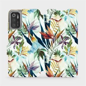 Flip pouzdro Mobiwear na mobil Xiaomi Poco M3 Pro 5G - M071P Flóra
