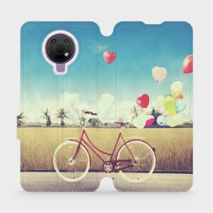 Flip pouzdro Mobiwear na mobil Nokia G10 - M133P Kolo a balónky