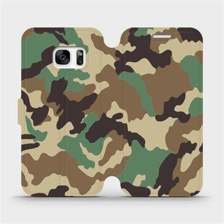 Flipové pouzdro Mobiwear na mobil Samsung Galaxy S7 - V111P Maskáče