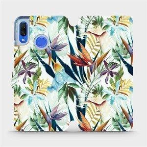 Flipové pouzdro Mobiwear na mobil Huawei Nova 3 - M071P Flóra