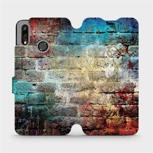 Flipové pouzdro Mobiwear na mobil Huawei P Smart 2019 - V061P Zeď