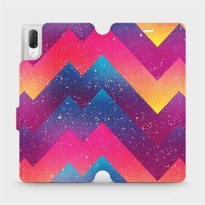Flipové pouzdro Mobiwear na mobil Sony Xperia L3 - V110S Barevné klikyháky