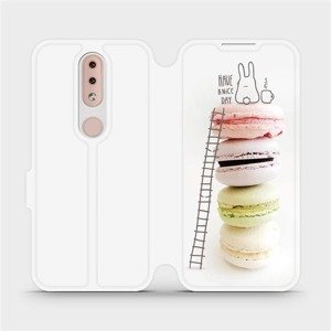 Flipové pouzdro Mobiwear na mobil Nokia 4.2 - M090P Makronky - have a nice day