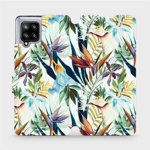 Flipové pouzdro Mobiwear na mobil Samsung Galaxy A42 5G - M071P Flóra