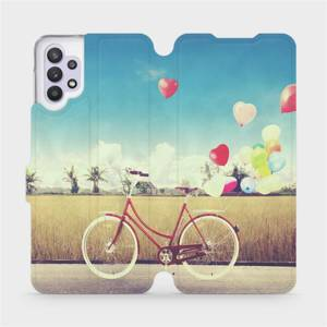 Flipové pouzdro Mobiwear na mobil Samsung Galaxy A32 5G - M133P Kolo a balónky