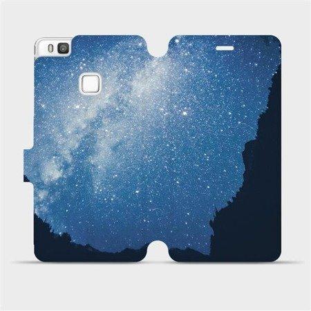 Flipové pouzdro Mobiwear na mobil Huawei P9 Lite - M146P Galaxie