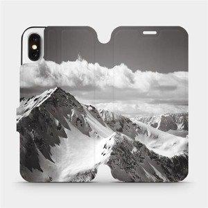 Flipové pouzdro Mobiwear na mobil Apple iPhone X - M152P Velehory