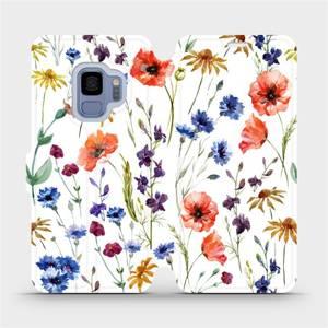 Flip pouzdro Mobiwear na mobil Samsung Galaxy S9 - MP04S Luční kvítí