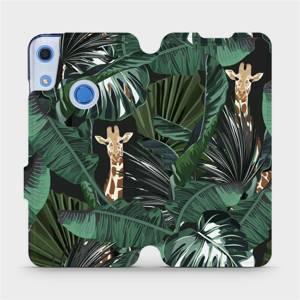 Flip pouzdro Mobiwear na mobil Huawei Y6S - VP06P Žirafky