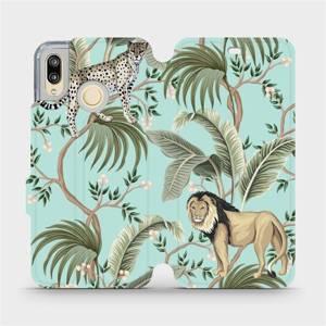 Flip pouzdro Mobiwear na mobil Huawei P20 Lite - MP08S Dvě kočičky