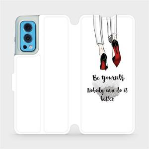 Flip pouzdro Mobiwear na mobil OnePlus Nord 2 5G - M046P Be yourself