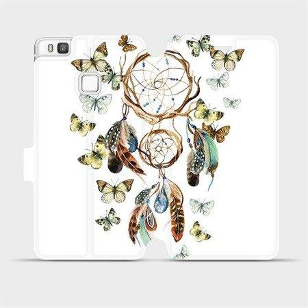Flipové pouzdro Mobiwear na mobil Huawei P9 Lite - M001P Lapač a motýlci