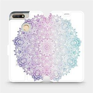 Flipové pouzdro Mobiwear na mobil Huawei Y6 Prime 2018 - M008S Mandala