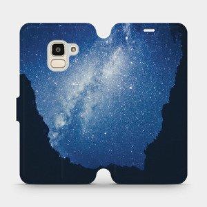 Flipové pouzdro Mobiwear na mobil Samsung Galaxy J6 2018 - M146P Galaxie