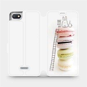 Flipové pouzdro Mobiwear na mobil Xiaomi Redmi 6A - M090P Makronky - have a nice day