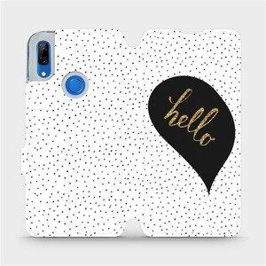 Flipové pouzdro Mobiwear na mobil Huawei P Smart Z - M013P Golden hello