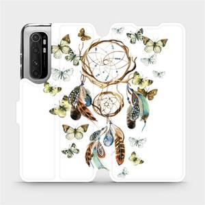 Flipové pouzdro Mobiwear na mobil Xiaomi Mi Note 10 Lite - M001P Lapač a motýlci