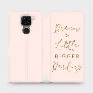 Flipové pouzdro Mobiwear na mobil Xiaomi Redmi Note 9 - M014S Dream a little