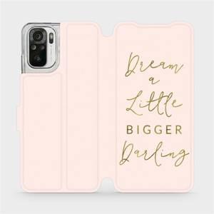 Flipové pouzdro Mobiwear na mobil Xiaomi Redmi Note 10 - M014S Dream a little
