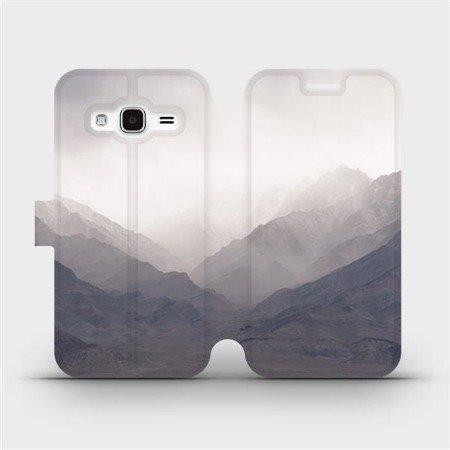 Flipové pouzdro Mobiwear na mobil Samsung Galaxy J3 2016 - M151P Hory