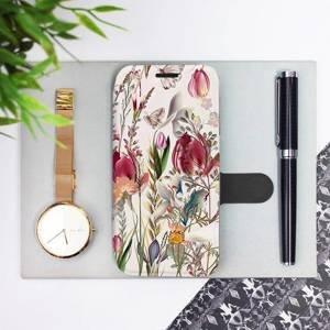 Flip pouzdro Mobiwear na mobil Sony Xperia 1 III - MP01S Rozkvetlá louka