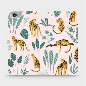 Flip pouzdro Mobiwear na mobil Apple iPhone 6s / iPhone 6 - MP07S Leopardi