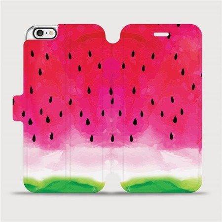 Flipové pouzdro Mobiwear na mobil Apple iPhone 6 / iPhone 6s - V086S Melounek