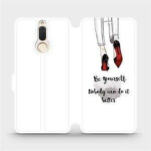 Flipové pouzdro Mobiwear na mobil Huawei Mate 10 Lite - M046P Be yourself