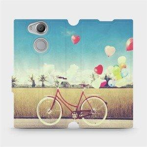 Flipové pouzdro Mobiwear na mobil Sony Xperia XA2 - M133P Kolo a balónky