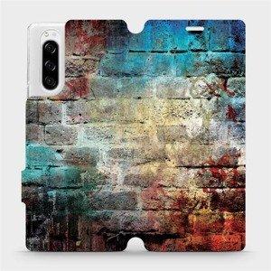 Flipové pouzdro Mobiwear na mobil Sony Xperia 5 - V061P Zeď