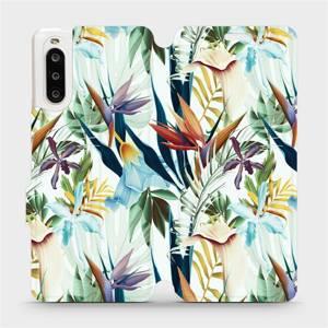 Flipové pouzdro Mobiwear na mobil Sony Xperia 10 II - M071P Flóra