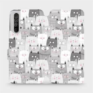 Flipové pouzdro Mobiwear na mobil Realme X3 SuperZoom - M099P Kočičky
