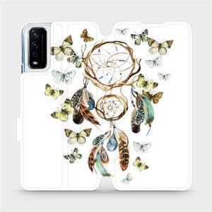 Flipové pouzdro Mobiwear na mobil Vivo Y11S - M001P Lapač a motýlci