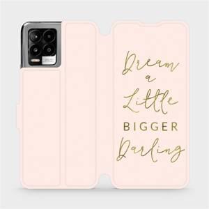 Flip pouzdro Mobiwear na mobil Realme 8 - M014S Dream a little