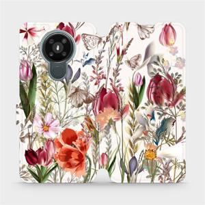 Flip pouzdro Mobiwear na mobil Nokia 3.4 - MP01S Rozkvetlá louka