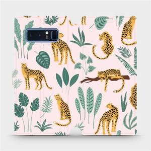 Flip pouzdro Mobiwear na mobil Samsung Galaxy Note 8 - MP07S Leopardi