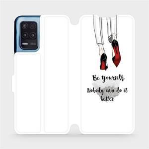 Flip pouzdro Mobiwear na mobil Realme 8 5G - M046P Be yourself