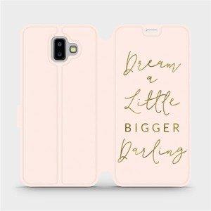 Flipové pouzdro Mobiwear na mobil Samsung Galaxy J6 Plus 2018 - M014S Dream a little