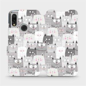 Flipové pouzdro Mobiwear na mobil Xiaomi Redmi 7 - M099P Kočičky