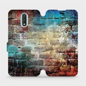 Flipové pouzdro Mobiwear na mobil Nokia 2.3 - V061P Zeď