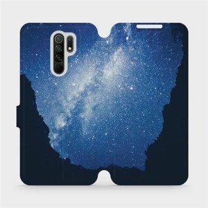 Flipové pouzdro Mobiwear na mobil Xiaomi Redmi 9 - M146P Galaxie