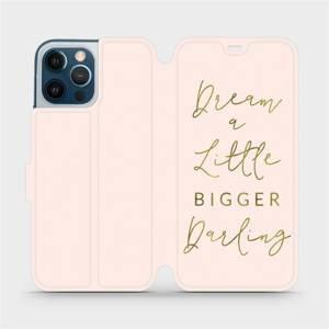Flipové pouzdro Mobiwear na mobil Apple iPhone 12 Pro Max - M014S Dream a little