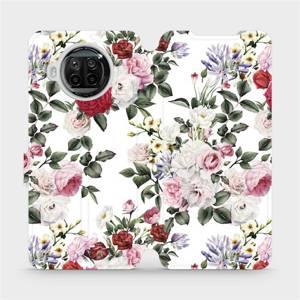 Flipové pouzdro Mobiwear na mobil Xiaomi MI 10T Lite - MD01S Růže na bílé