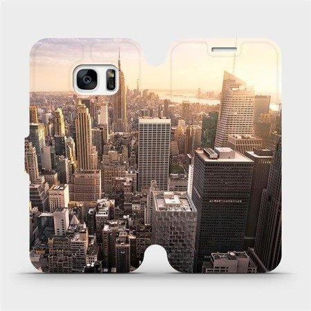 Flipové pouzdro Mobiwear na mobil Samsung Galaxy S7 Edge - M138P New York