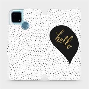 Flip pouzdro Mobiwear na mobil Realme 7i - M013P Golden hello