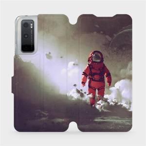 Flipové pouzdro Mobiwear na mobil Vivo Y70 - MA07S Týpek ve skafandru