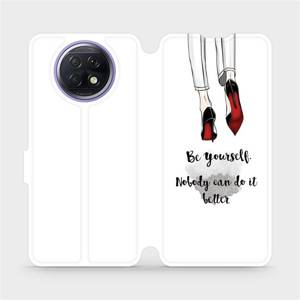 Flipové pouzdro Mobiwear na mobil Xiaomi Redmi Note 9T 5G - M046P Be yourself
