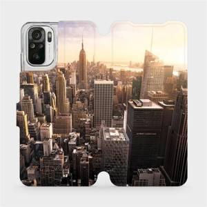 Flipové pouzdro Mobiwear na mobil Xiaomi Redmi Note 10 - M138P New York