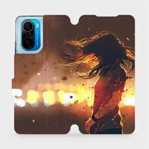 Flipové pouzdro Mobiwear na mobil Xiaomi Mi 11i / Xiaomi Poco F3 - MA02S Tetovaná dívka