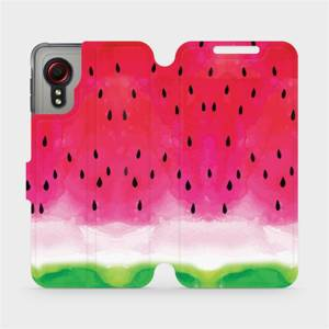 Flipové pouzdro Mobiwear na mobil Samsung Galaxy Xcover 5 - V086S Melounek